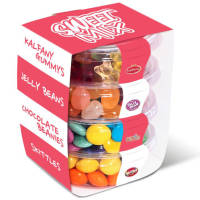 PromotionalStack of Sweets and Chocolate Printed with a Wrap by Total Merchandise