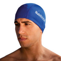 Blue Promotional Swimming Caps Printed with Your Logo