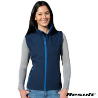 Promotional Result Core Ladies 2 Layer Softshell Bodywarmers for Uniform