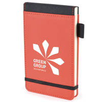 Red Logo Printed Flip Notepads with your Corporate Design