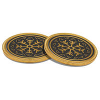 Promotional38mm Chocolate Coins in Gold Printed with a Logo in the UK by Total Merchandise