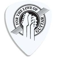 Promotional Recycled Plastic Guitar Plectrums for Band Merchandise