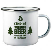 Printed Camping Cups for Shop Resale Merchandise