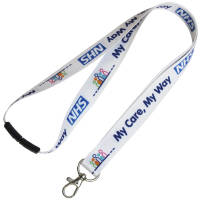 Express UK Printed Lanyards with Trigger Clip & Safety Break from Total Merchandise