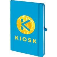 Branded Notebooks In Blue