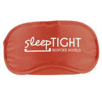 Promotional eye mask in red