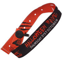 Branded Woven Wristbands for Corporate Events
