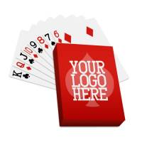 A branded deck of cards can be a fun promotional giveaway
