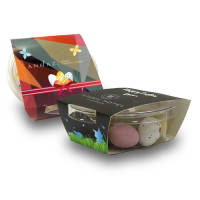 Biodegradable Pots with Tasty Chocolate Mini Eggs