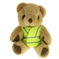 Hi Vis Jacket Honey Teddy Bears