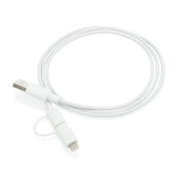 MFi Licensed 2-in-1 USB Cable