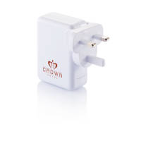 Promotional usb travel adaptors as practical business gifts