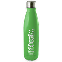 Corporate Branded Antimicrobial Eevo-Therm Drink Bottles in Lime Green from Total Merchandise