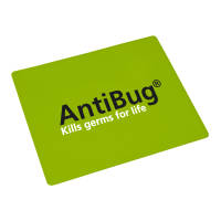 Promotional Antimicrobial Counter Mats with your Company Logo by Total Merchandise