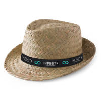 Custom branded straw hats make great business gifts or resale items