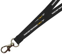 Pantone-Matched Branded Lanyards For Social Distancing From Total Merchandise