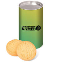 BrandedMini Shortbread Biscuit Tins Printed with Individual Names from Total Merchandise