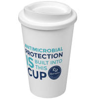 Eco-friendly Americano Pure Reusable Coffee Cups with Antibacterial Treatment from Total Merchandise