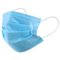 Single-Use Disposable Face Masks with 3 Layers from Total Merchandise