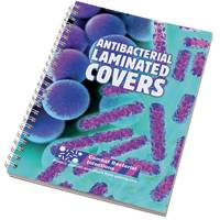 Custom Printed A5 Antibacterial Wiro Bound Notepads from Total Merchandise