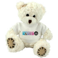 Paw Teddy Bears Printed with Individual Names from Total Merchandise