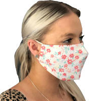 Custom branded Washable UK Made Face Masks available in children's, standard and large sizes