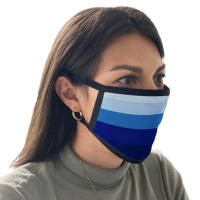 Company logo printed Face Mask with a full colour printed design from Total Merchandise