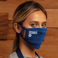 Customised Double Layer Reusable Face Masks Printed with Individual Names from Total Merchandise