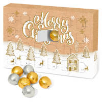 Branded Eco-friendly Kraft Advent Calendars Printed with your Design from Total Merchandise