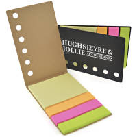 Custom Printed Eco Sticky Note & Page Marker Sets from Total Merchandise