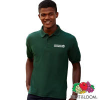 Custom Branded Fruit of the Loom Polo Shirts with Individual Names from Total Merchandise