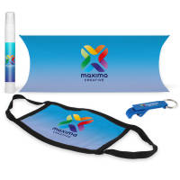 Custom Printed Student Hygiene Packs from Total Merchandise in Blue