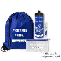 Custom Branded Back to School Sets with Space to Write Your Name from Total Merchandise
