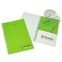 Custom Printed A5 Notebook School Set from Total Merchandise