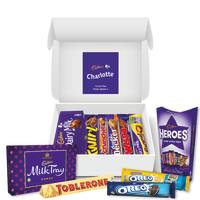 Branded Cadbury Chocolate Hampers Printed with your Company Name & Message from Total Merchandise