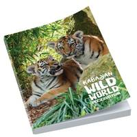 Promotional A6 Perfect Bound Notepads printed all over the cover in full colour by Total Merchandise
