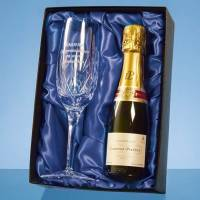 Branded Blenheim Single Champagne Flute Gift Sets Engraved with your Logo by Total Merchandise