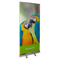 Promotional Budget Pull Up Banner Printed with your Event Information by Total Merchandise