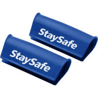 Promotional Antimicrobial Handle Guard Covers in Blue Colour with Branding by Total Merchandise