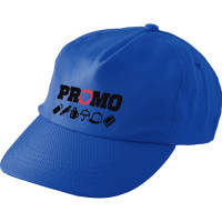 Promotional rPET Caps in cobalt blue colour by Total Merchandise