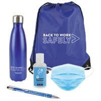 Custom Printed Back to Work Kits or Back to School Sets with your Logo from Total Merchandise