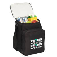 Branded Breezy Picnic Cooler Bag with your logo on front pocket by Total Merchandise
