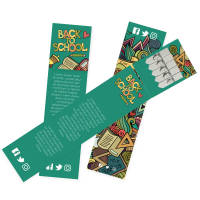 Custom printed Bookmark Seed Sticks with your corporate design by Total Merchandise