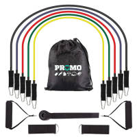 Custom Printed Exercise Resistance Bands in different colours and strengths by Total Merchandise