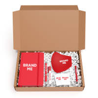 Printed TM Back to Work Ultra MerchBox with items branded with your logo by Total Merchandise