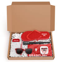 Promotional Hello Sunshine Travel Gift Set with items printed with your logo by Total Merchandise