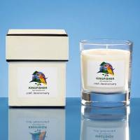 Promotional scented Candle Gift Sets printed with your company logo by Total Merchandise
