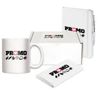 Personalised Mood-Vienna Mug Gift Sets printed with your company logo by Total Merchandise