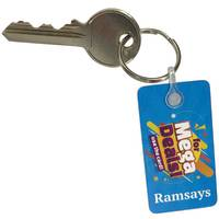 Custom Printed Membserhip Clubcard Keyrings Printed with your Logo from Total Merchandise