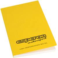 Branded A5 Recycled Book Till Receipt in Sunshine Yellow cover colour by Total Merchandise
